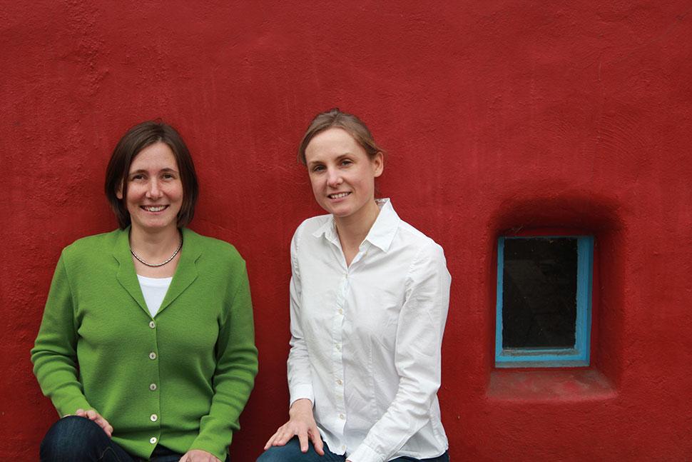 Bild mit Dr. Tina Ebbing und Kathrin Göttker M.A.